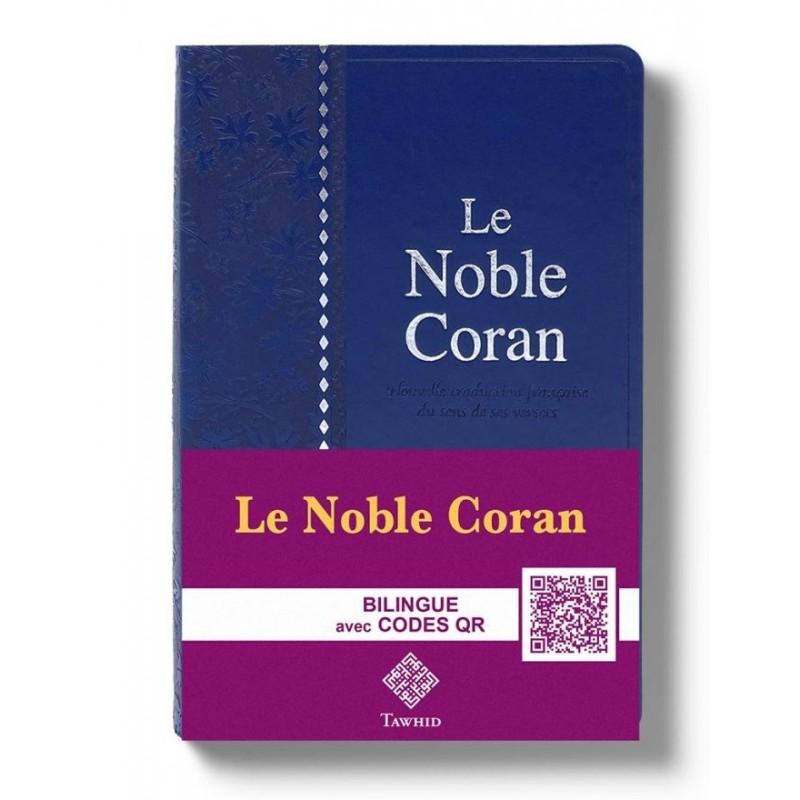 Noble Coran Argenté Codes QR (Audio) - Poche