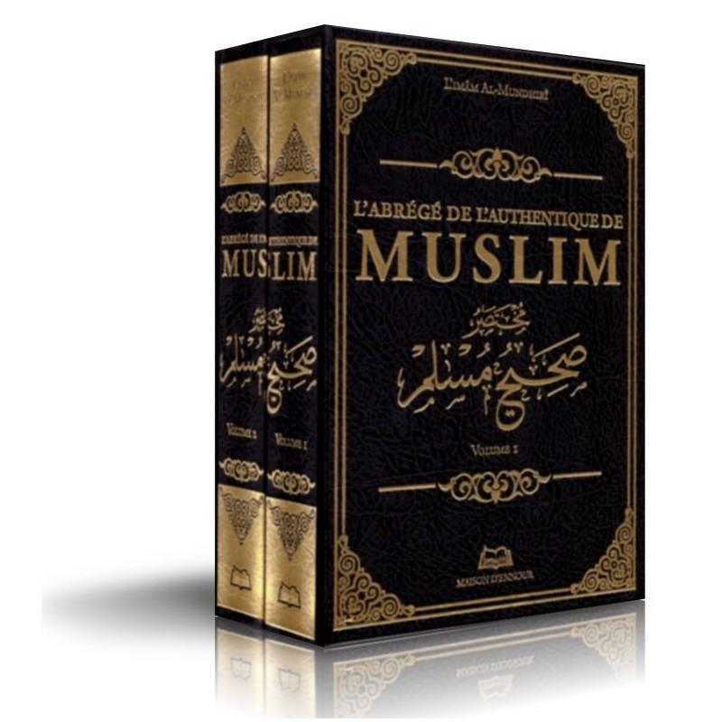 L'abrégé de l'authentique de MUSLIM 2 VOLUMES (Sahih Muslim) Imam Al-Mundhiri